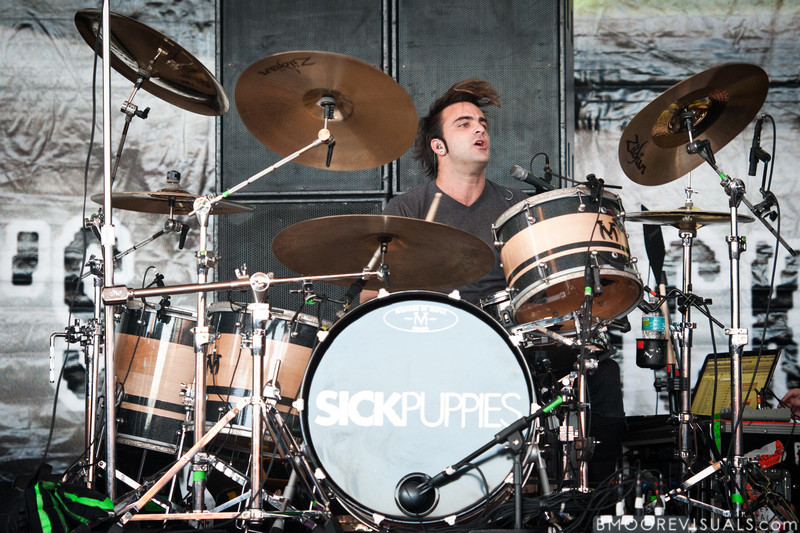 Mark Goodwin of Sick Puppies performs on December 5, 2010 during 97X Next Big Thing at 1-800-ASK-GARY Amphitheatre in Tampa, Florida