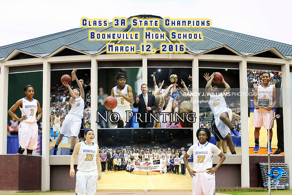 State Basketball Posters