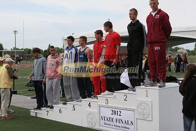 Awards - 2012 MHSAA LP T&F Finals Division 1 by Matt