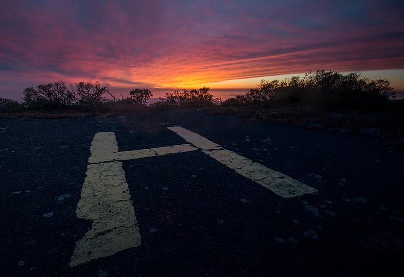 Landing Pad  Hill 88, Golden Gate National Recreation Area