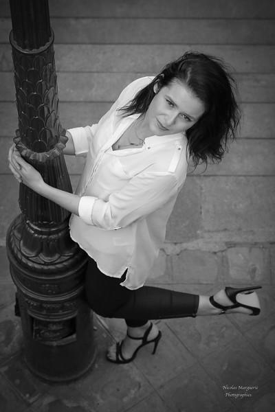 Elisa A, Un Jour de Septembre 2016, A Montmartre