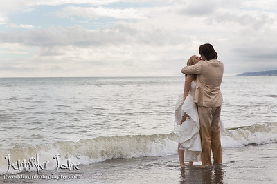 Hayley and Lawrence, Post Wedding Beach Shoot - Estepona