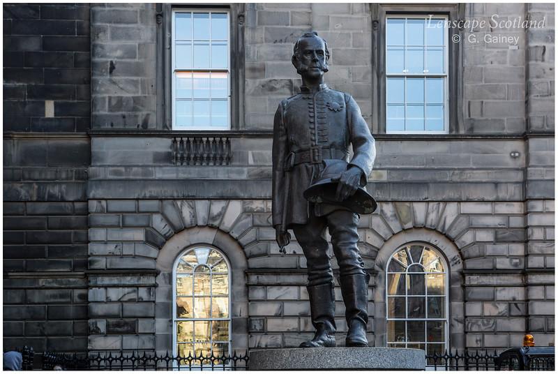 James Braidwood statue, Parliament Square