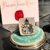 'Pineapple Family Crest' Chalcedony Ring, by Seal & Scribe 23