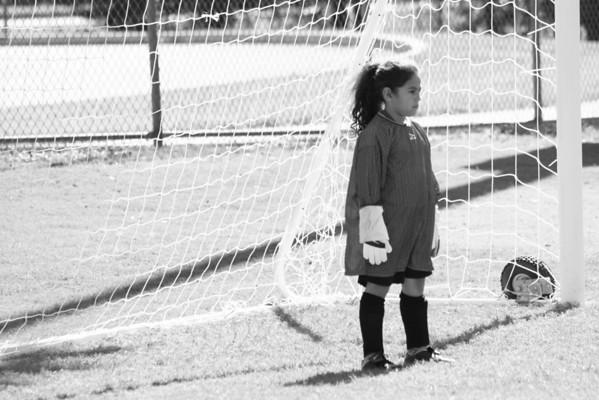 Beckys 1st Soccer Game