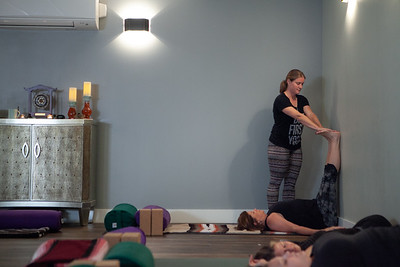 Sonya's Yoga Therapy Class, July 2019