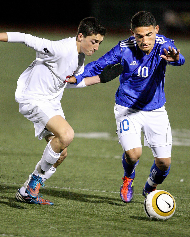 . Sport action from the CIF Division 1 Championship game between El Rancho and San Clemente at Warren High School in Downey, Saturday March 9, 2013. El Rancho went on to capture the championship 3-0. (Correspondent photo by Chris Burt/Sports)