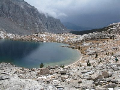 Miter Basin-Day 4-Sky Blue to Middle Crabtree Lake-8-14-12