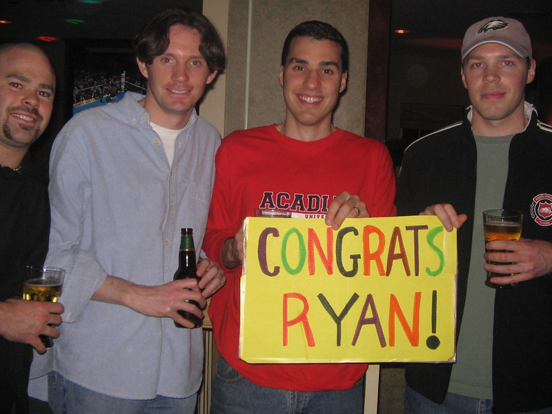 Geoff, David and Bud