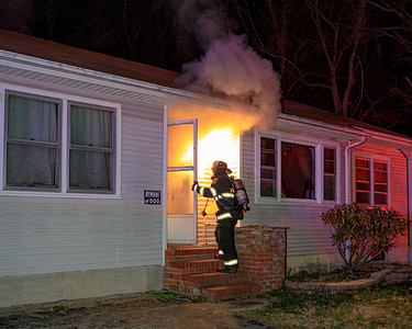 Residential Structure Fire - Peters Road - New Hackensack Fire District - 3/25/2020
