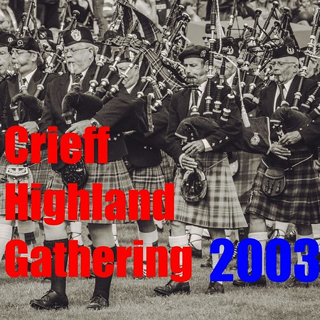 The 2003 Crieff Highland Games