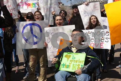 Westboro Counter protest