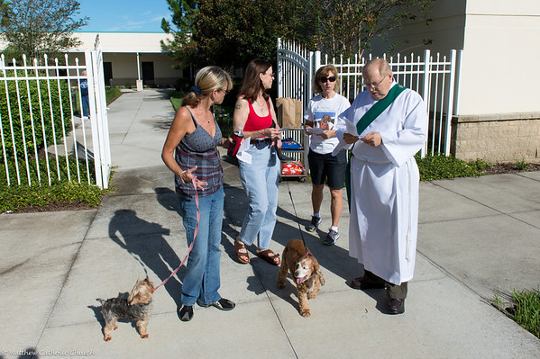 Annual Blessing of The Pets