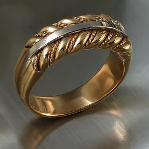 Namejs for women (bi-color gold)