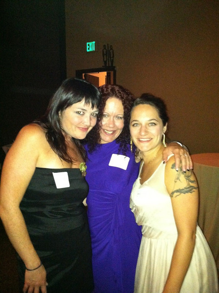 Stella stepped out! With two of the many wonderful women in attendance. Love you guys!