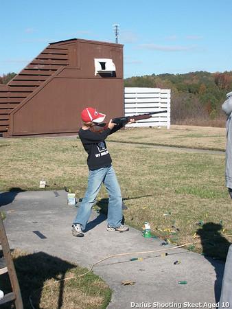 First Time Skeet Shooting Aged 10