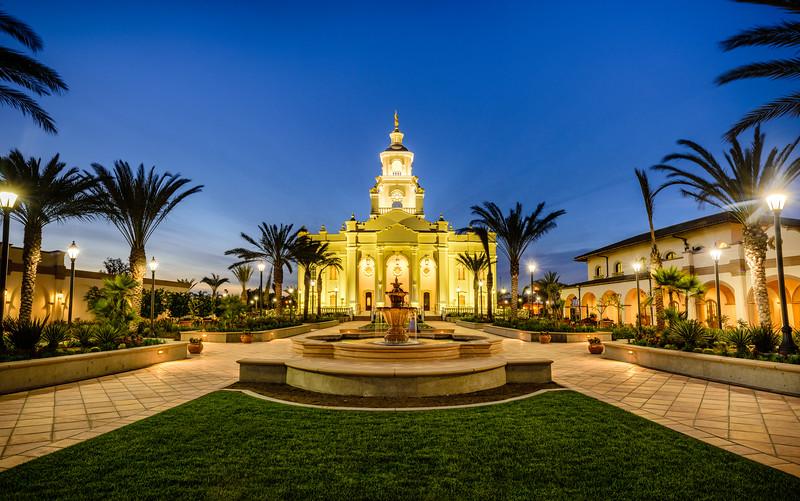 Tijuana Temple Grounds