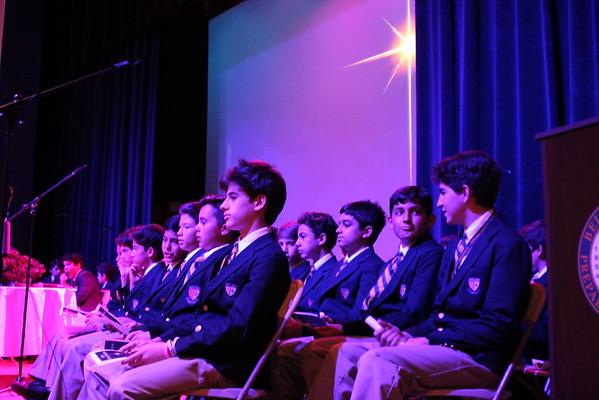2016 Middle School Advent Prayer Service