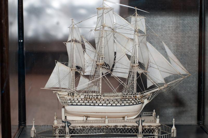 2009-10-03 - USNA Museum - 238 - Ivory Ship Model - _DSC7643.jpg