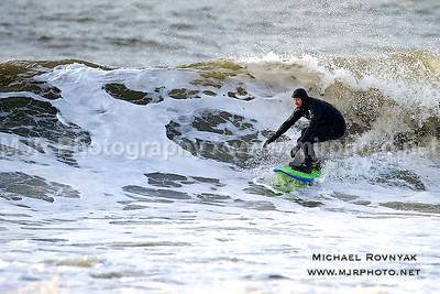 Surfing, L.B. West, NY, 01-27-11