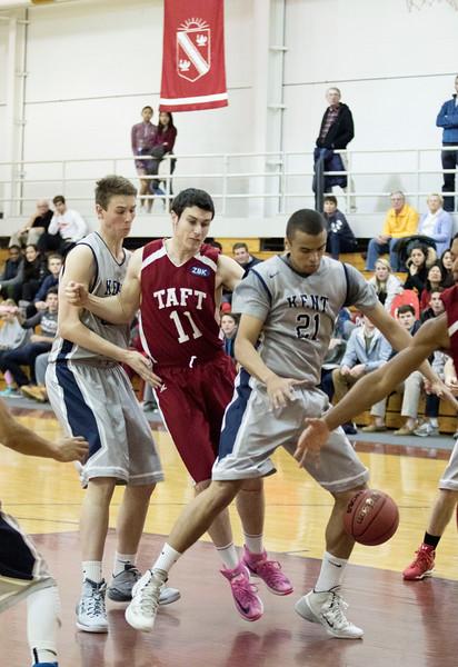 1/14/15: Boys' Varsity Basketball v Kent
