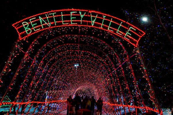 Bentleyville Lights 2013