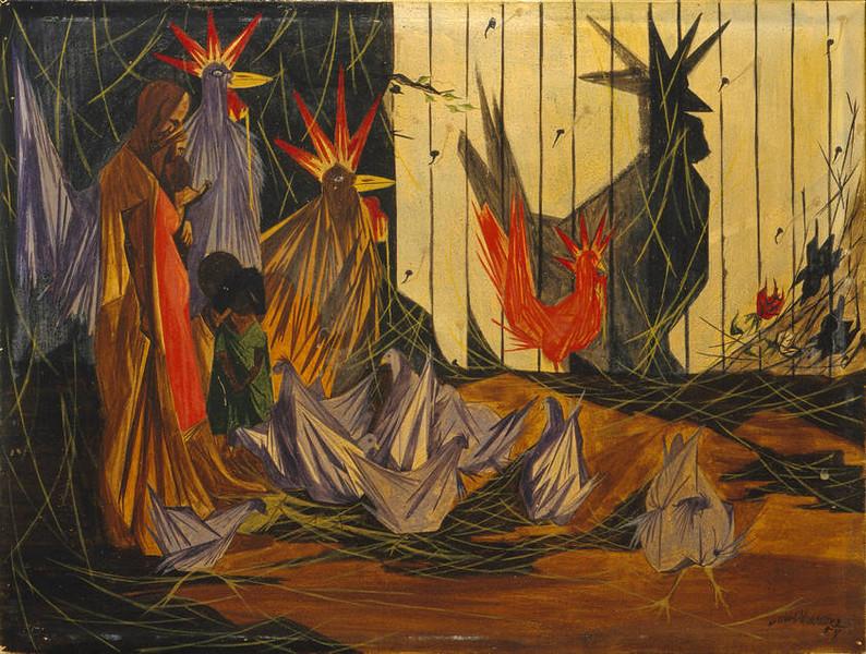 "Jacob Lawrence, ""Nativity"" (1954)"