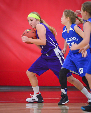 5th Grade Girls Purple Janesville Nov 2016