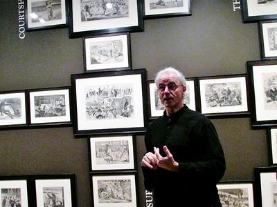 Marc Simpson speaks at Clark Art