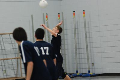 OE boys freshman volleyball Vs Oswego