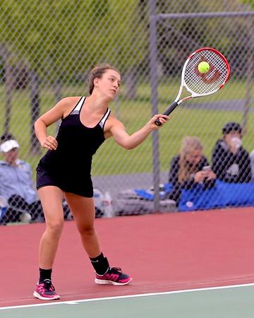 Outlaws Girls Tennis Doubles  District @ Sam Johnson Park 5-14-15