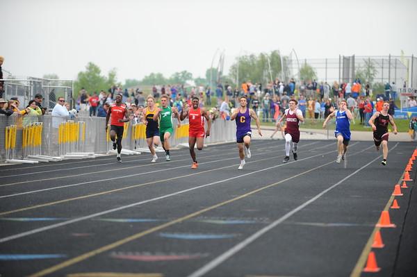 Boys' 200 Meter FINALS - 2019 MHSAA LP D4 T&F
