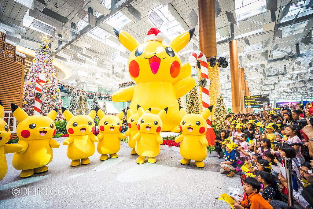 Pokémon at Changi Airport - Pikachu Parade with Kids