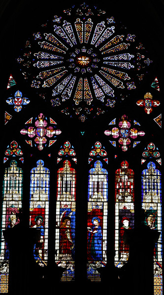 Bourges Cathedral West Facade Rose Window