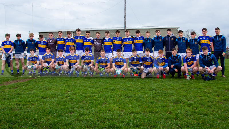 Tipperary Team before the start of the Munster Minor Football Championship