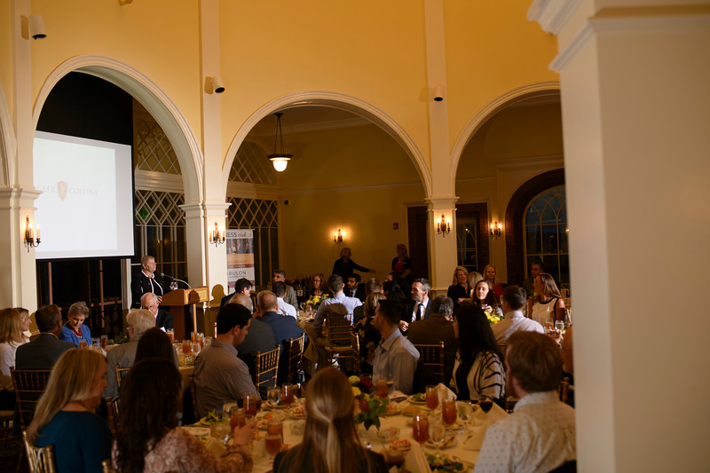 CEO Banquet - Flagler College - Speaker Penelope Canan