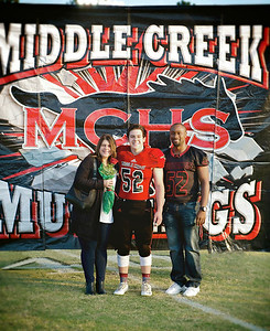 MCHS Senior Night 2016