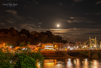 Easton, Pa. - Full Moon August 25, 2018
