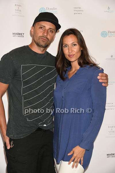 Pavel Peskal and Danielle Franzphoto by Rob Rich/SocietyAllure.com © 2016 robwayne1@aol.com 516-676-3939