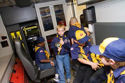 Cub Scouts Visit