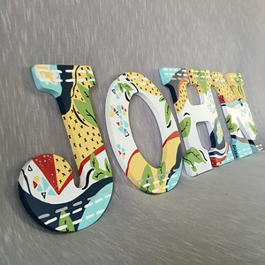 Painted Alphabet Letters