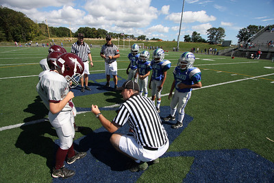 SCPW: Naugatuck at West Haven Jr Pee Wee 20090926