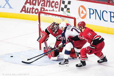 Canes vs Blue Jackets 10.10.17