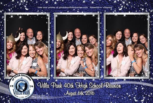 Villa Park 40th High School Reunion