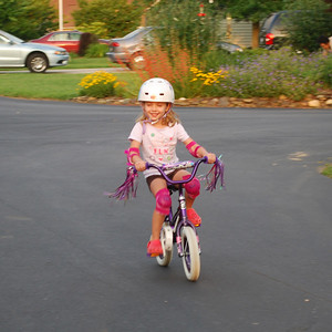 Without training wheels