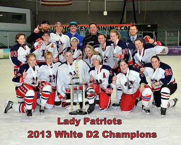 White D2 Championship - Black Widows vs Patriots