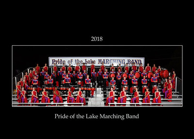 Pride of the Lake Marching Band Team and Individuals 2018