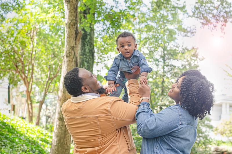 Tasheekia and family