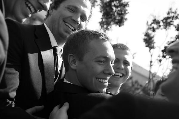 Kate and Brad Wedding Grooms Men