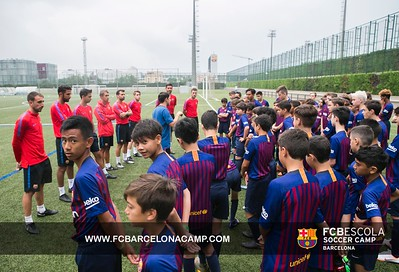 2018 - FCBarcelona Residential Camp